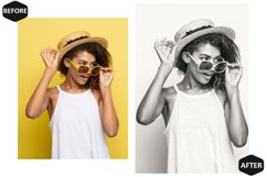 18 Black And White Photoshop Actions And ACR Presets, B&W Ps Product Image 5