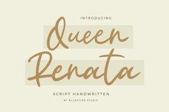 Queen Renata - Script Handwritten Product Image 1