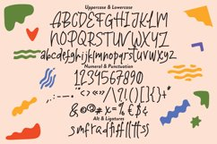 Satuhari - Children's Writing Font Product Image 5