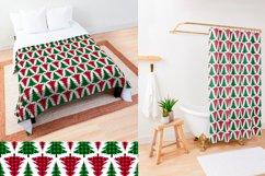 Christmas Tree Pattern, Buffalo Plaid Graphic Product Image 2