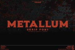 Metallum - Serif font Family Product Image 1