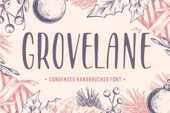 GROVELANE Condensed Handbrushed Font Product Image 1