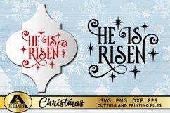 Arabesque Christmas Ornament SVG Christmas Ornaments SVG Product Image 1