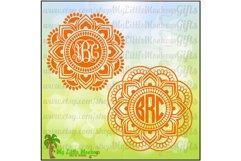 Mandala Monogram Base Product Image 1