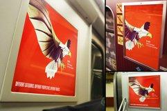 Subway Train Poster Mockup Templates Product Image 2