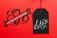 Web Font Split Monogram Letters - Monogram Alphabet Product Image 4