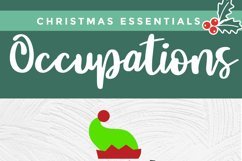 Christmas Occupational Therapy svg, Elf Squad hat & shoes OT Product Image 4