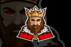 King mascot logo design Product Image 3