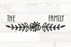 Vol 1 - Family Monogram Name Signs Bundle svg Product Image 6