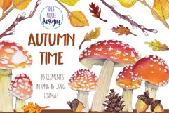 Autumn Time Clipart Product Image 1
