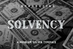 Solvency  Product Image 1