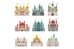 Medieval old castles and historical buildings with fairytale Product Image 1