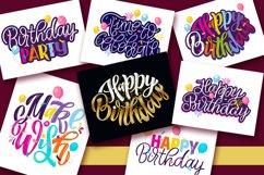 Happy Birthday Party - postcard mix set Product Image 2