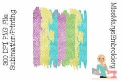 Spring Sublimation Background | Brush Stroke Sublimation Product Image 1