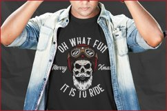 Cool Christmas Bundle for Crafters - Bikers, Gnomes & Skulls Product Image 4