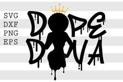 Dope Diva SVG Product Image 1