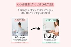 Pink Pinterest Templates for Canva Product Image 4