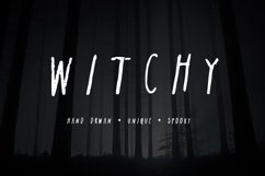 Witchy| A Spooky Sans-Serif Product Image 1