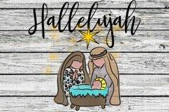 Hallelujah Sublimation Digital Download Product Image 1