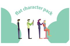 flat character for your website Product Image 1