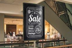 Chalk Sale Postcard Product Image 2