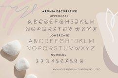 Aronia - Thin Line Logo Font Product Image 4