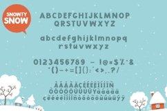 Web Font Snowty 3 Font Product Image 4