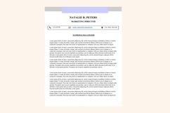Simple resume – Natalie Product Image 3
