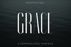 GRACE, A Sophisticated Typeface Product Image 1