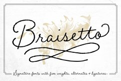 Braisetto Font Family Product Image 1