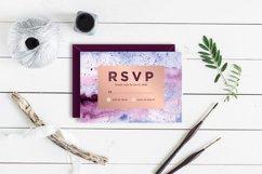 Royal - Wedding Invitation & RSVP Product Image 2