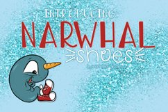 Narwhal Shoes, A Handwritten Font Product Image 1