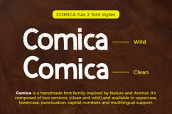 Comica  Font Duo Product Image 5
