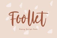 Web Font Foollet- Fancy Script Font Product Image 1