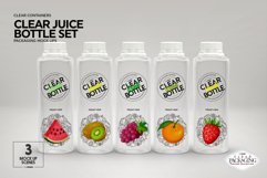 Juice Bottle Set Packaging MockUp Product Image 6