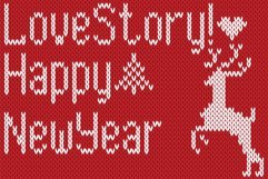 Christmas Knitted Font Version 3.0 Product Image 2