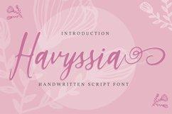 Havyssia   Handwritten Script Font Product Image 1