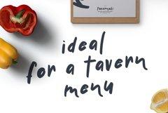 Handwritten Delicious Font Tavernaki Webfont Product Image 4
