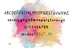 Quicky Brush Font Product Image 6