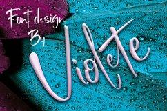 Violete Font Product Image 5
