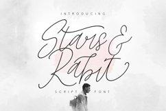 Star & Rabit Script Font Product Image 1