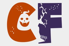 Halloween Party - A Silhouette Display Font Product Image 6