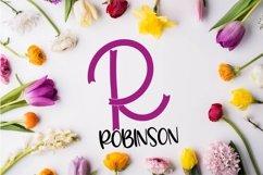 Brave - A Ribbon Monogram Font Product Image 6