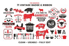 71 VINTAGE BADGE & RIBBON Vol.7 Product Image 3