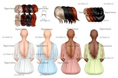 Customizable Seamstress Clipart, Craft Clipart. Product Image 6