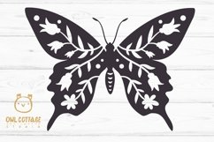 Butterfly SVG, butterfly PNG, butterfly silhouette Product Image 2