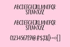 Web Font Bertie - a quirky handwritten font Product Image 3