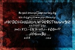 Autined | Hardscript Typeface Font Product Image 6