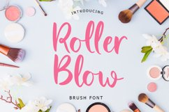 Roller Blow Brush Font Product Image 1