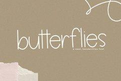Butterflies - A Thin Handwritten Font Product Image 1